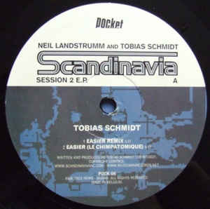 Tobias Schmidt - Scandinavia Sessions 2 EP cover of release