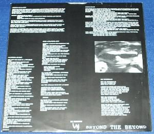 Weathermen, The - Beyond The Beyond cover of release