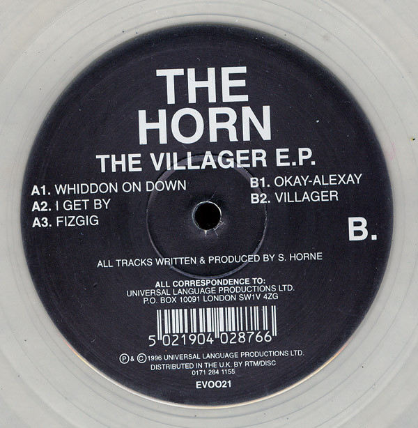 Horn, The - The Villager E.P.