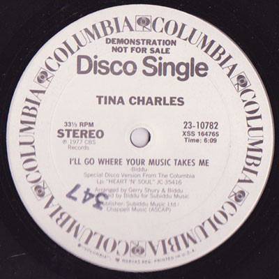 Tina Charles - I'll Go Where Your Music Takes Me