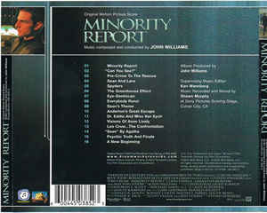 John Williams (4) - Minority Report (Original Motion Picture Score)
