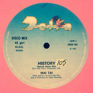 Mai Tai - History cover of release
