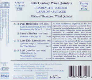 Paul Hindemith - 20th Century Wind Quintets