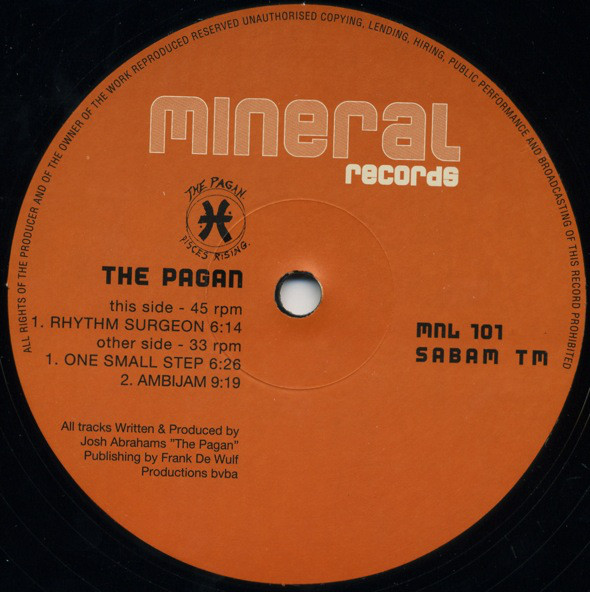 Pagan, The - Rhythm Surgeon