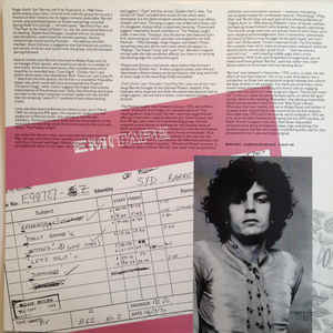 Syd Barrett - Opel cover of release
