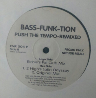 BASS-FUNK-TION - Push The Tempo (Remixed)