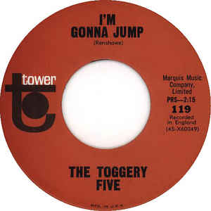 Toggery Five, The - I'm Gonna Jump cover of release