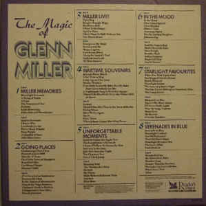 Bright Sound Express - The Magic Of Glenn Miller cover of release