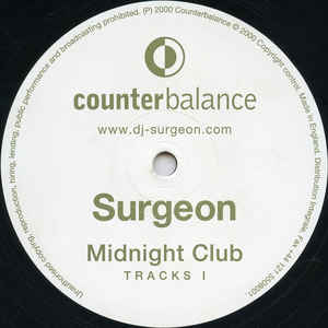 Surgeon - Midnight Club Tracks I cover of release
