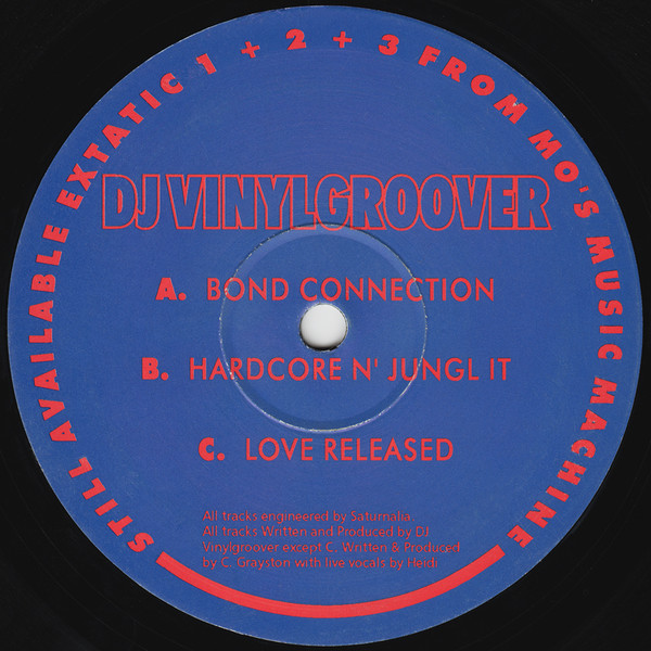 Vinylgroover - Love Released
