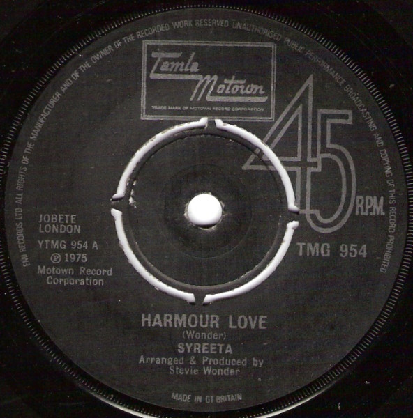 Syreeta - Harmour Love / What Love Has Joined Together