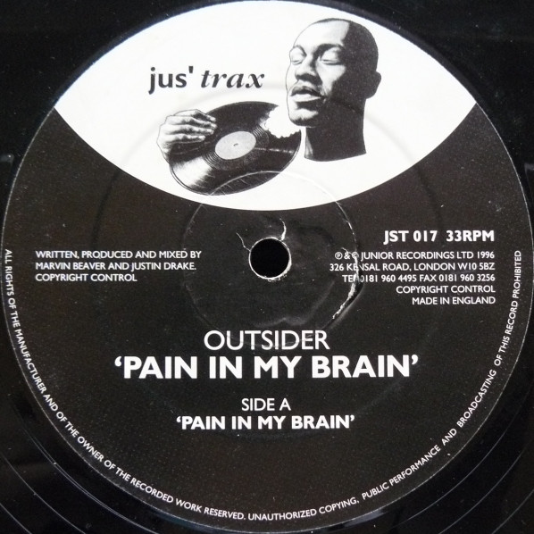 Outsider - Pain In My Brain