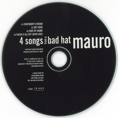 Mauro Pawlowski - 4 Songs From A Bad Hat