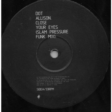Dot Allison - Close Your Eyes