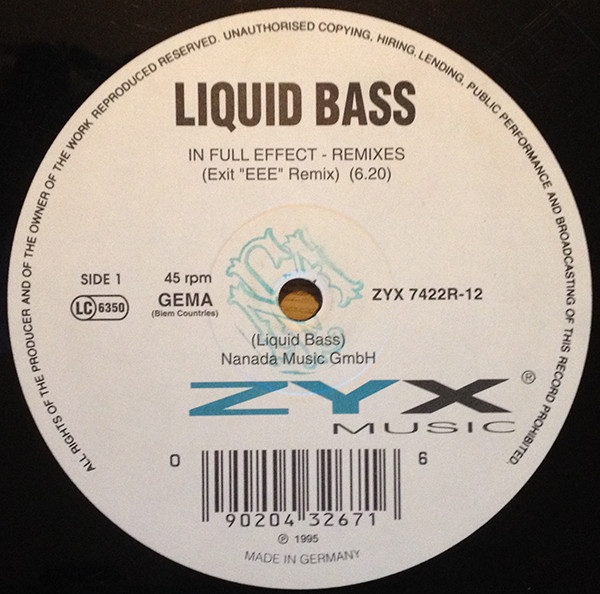 Liquid Bass - In Full Effect EP (Remixes)