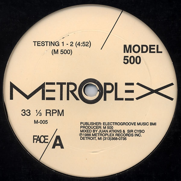 Model 500 - Testing 1-2 / Bang The Beat