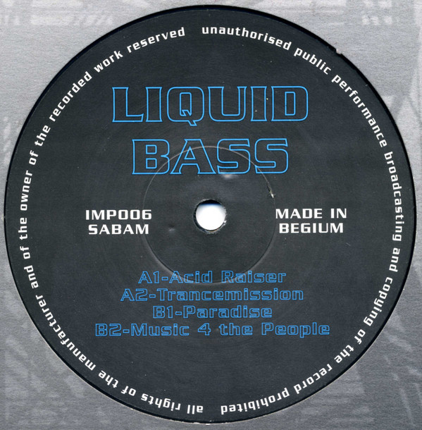 Liquid Bass - Acid Raiser