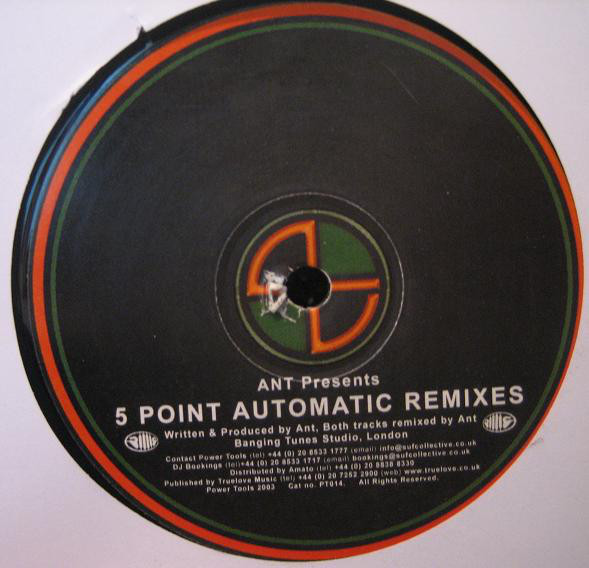 Ant - 5 Point Automatic Remixes