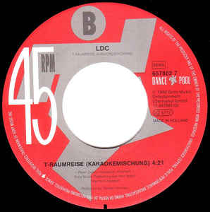 LDC - T-Raumreise cover of release