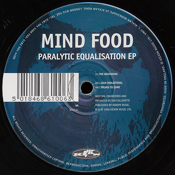 Mind Food - Paralytic Equalisation EP