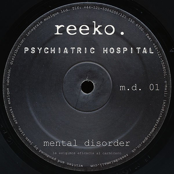 Reeko - Psychiatric Hospital