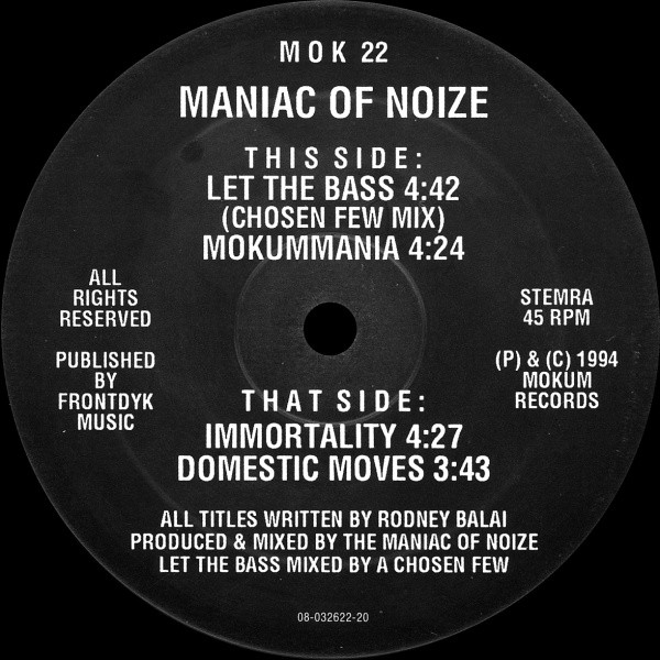 Maniac Of Noize - Let The Bass
