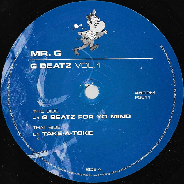 Mr. G - G Beatz Vol. 1