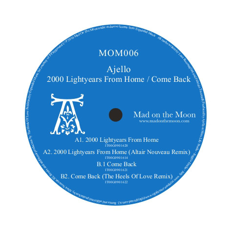 Ajello - 2000 Lightyears From Home / Come Back