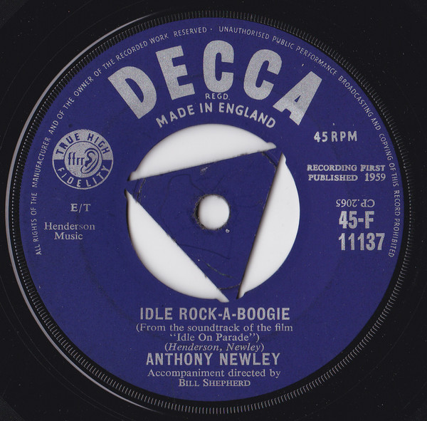 Anthony Newley - Idle Rock-A-Boogie