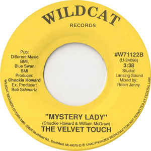 Velvet Touch, The - Don't Let Me Down / Mystery Lady