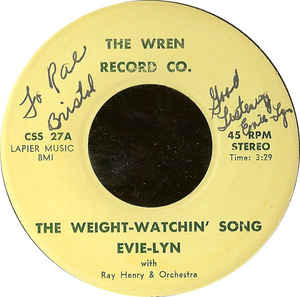 Evie-Lynn - The Weight-Watchin' Song / I'm Falling In Love Again