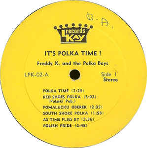 Freddy K (2) - It's Polka Time!