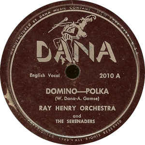 Ray Henry And His Orchestra - Domino / Rain, Rain
