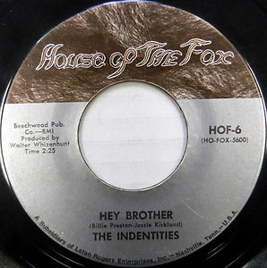 Identities, The - Hey Brother / When Love Slips Away