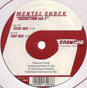 Mental Shock - Seduction Vol. 1 cover of release
