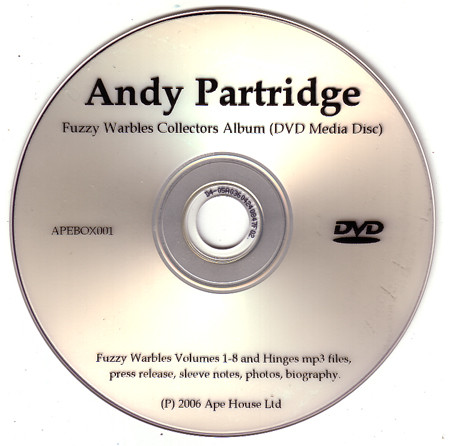 Andy Partridge - Fuzzy Warbles Collectors Album