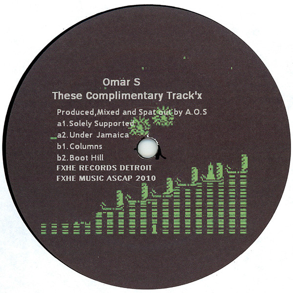 Omar-S - These Complimentary Track'x