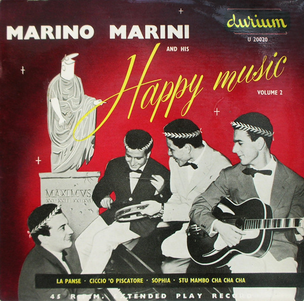 Marino Marini Ed Il Suo Quartetto - Marino Marini And His Happy Music - Volume 2