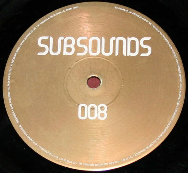 DJ Tuttle - Subsounds 008