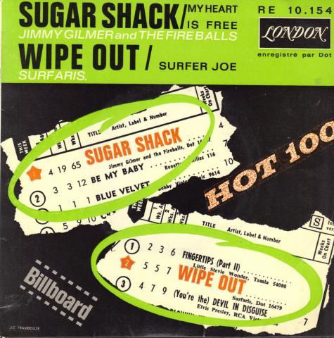 Fireballs, The - Sugar Shack / My Heart Is Free
