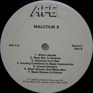 Malcolm X - The Wisdom Of Malcolm X cover of release