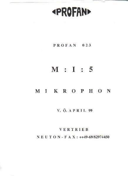 M:I:5 - Mikrophon