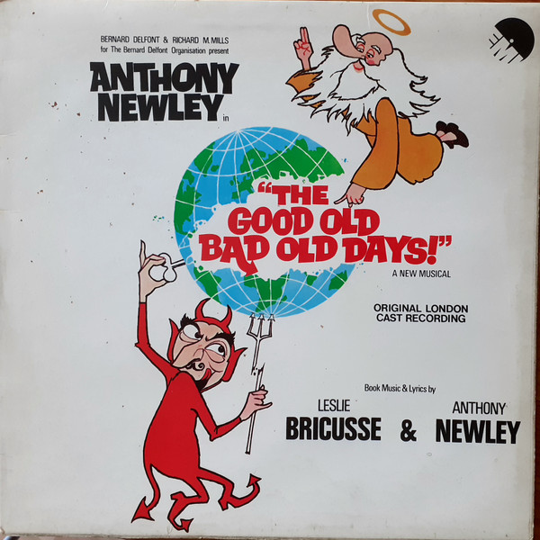 Anthony Newley - The Good Old Bad Old Days (Original London Cast Recording)