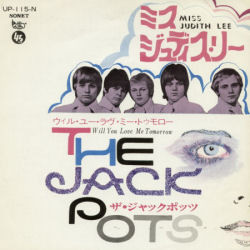 Jackpots, The - Miss Judith Lee / Will You Love Me Tomorrow