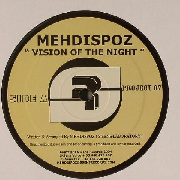 Mehdispoz - Vision Of The Night