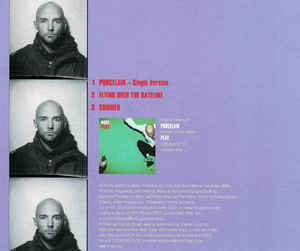 Moby - Porcelain cover of release