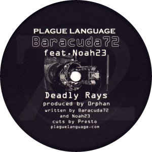 Noah23, Baracuda  - Crypto Sporidian / Deadly Rays cover of release