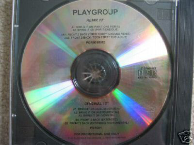 Playgroup - Bring It On / Front 2 Back