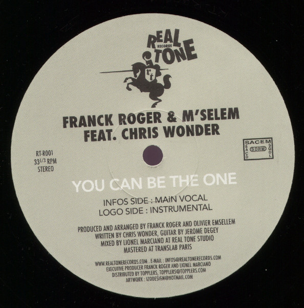 Franck Roger - You Can Be The One