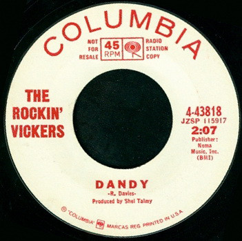 Rocking Vickers, The - Dandy